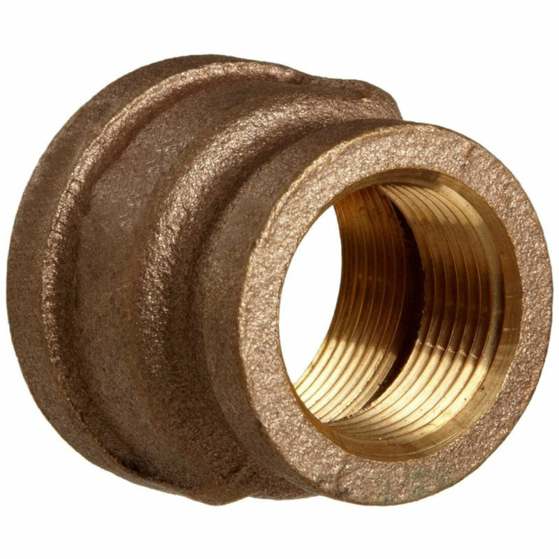 Brass reducing coupling fitting quot ebay