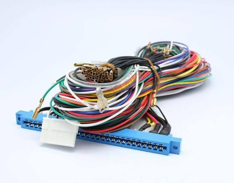 new jamma harness wire wiring loom for arcade game pcb ebay. Black Bedroom Furniture Sets. Home Design Ideas