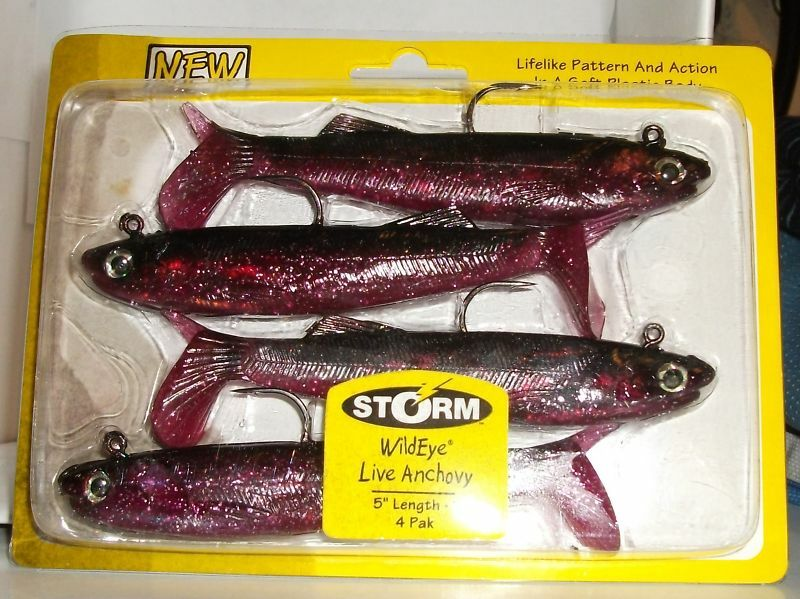 Fishing supplies storm wildeyed live anchovy ebay for Fishing supply stores