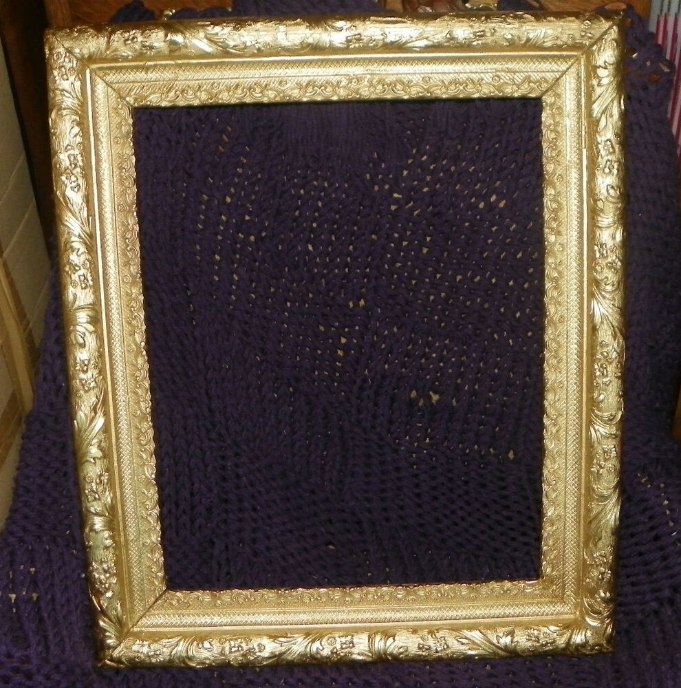 Ornate gilded picture frame 16 x 20 mr29 ebay for 16x20 frame