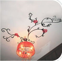 Ceiling Flow Wall Stickers/ Decal art Mural Decor Paper