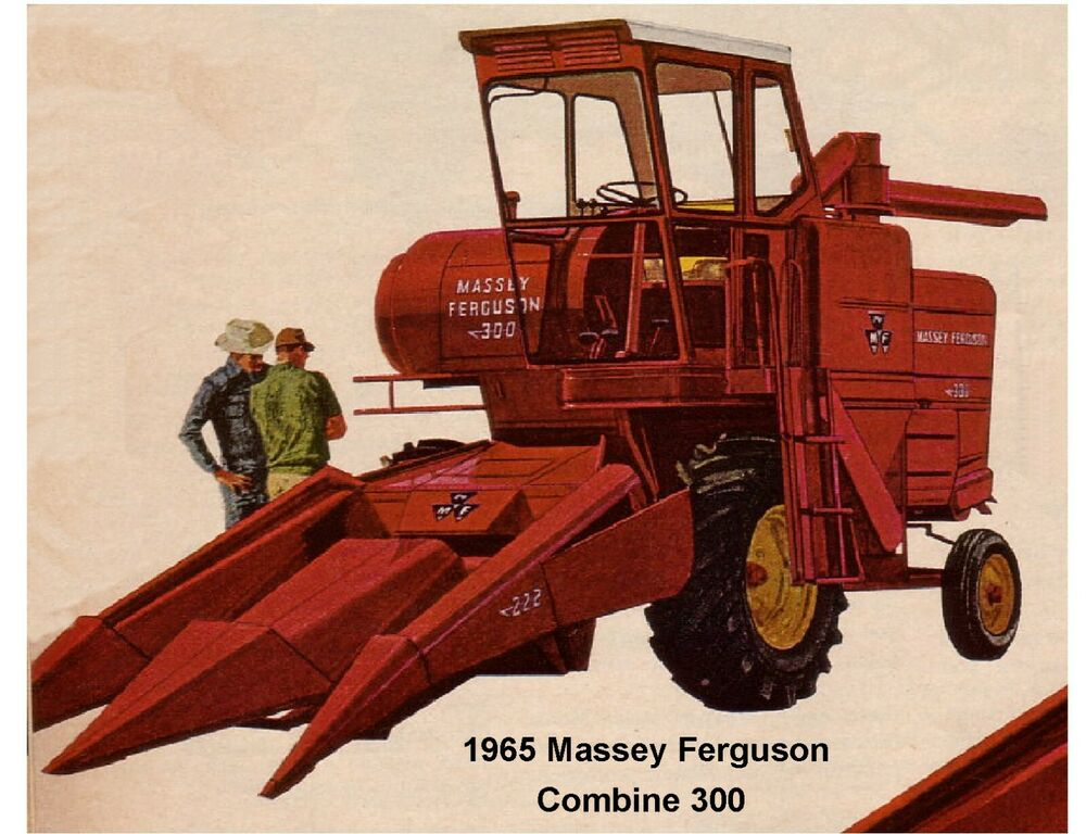 Tractor With Tools : Massey ferguson combine tractor refrigerator