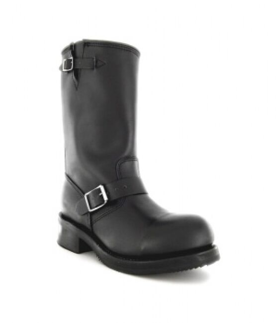 buffalo biker boots 1808 schwarz ebay. Black Bedroom Furniture Sets. Home Design Ideas