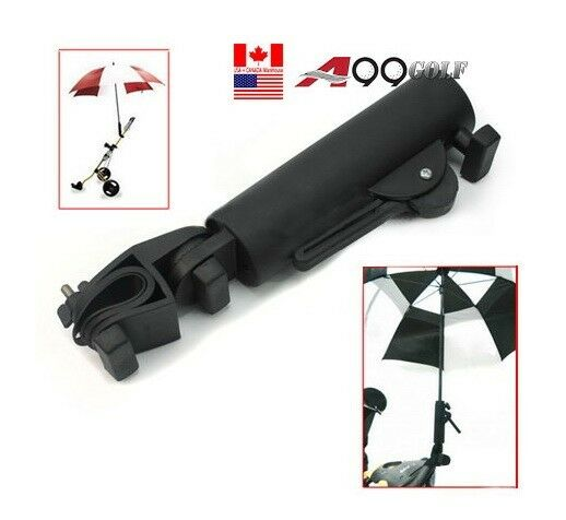 Swivel golf umbrella holder head stand cart and fishing ebay for Golf cart fishing rod holder