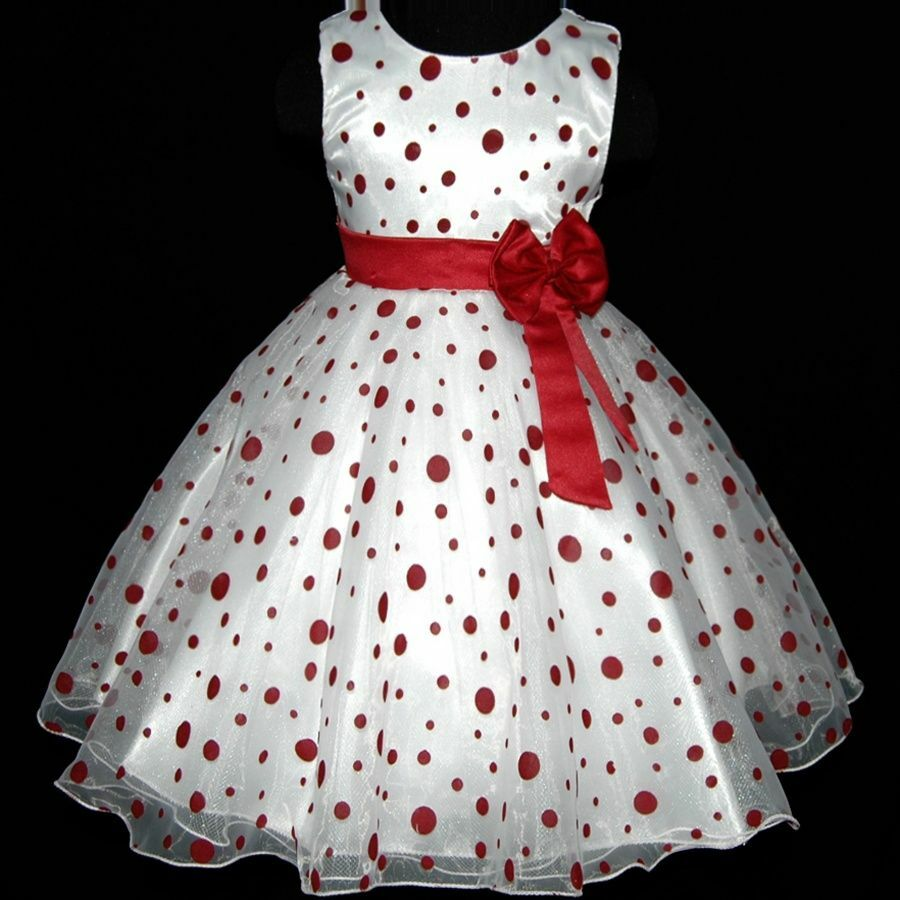 Affordable wedding party flower girls dresses size 3t 4t 6t 8t ebay