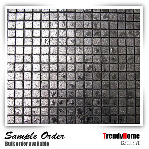 metallic tiles kitchen sample metallic silver ceramic mosaic tile kitchen 4104