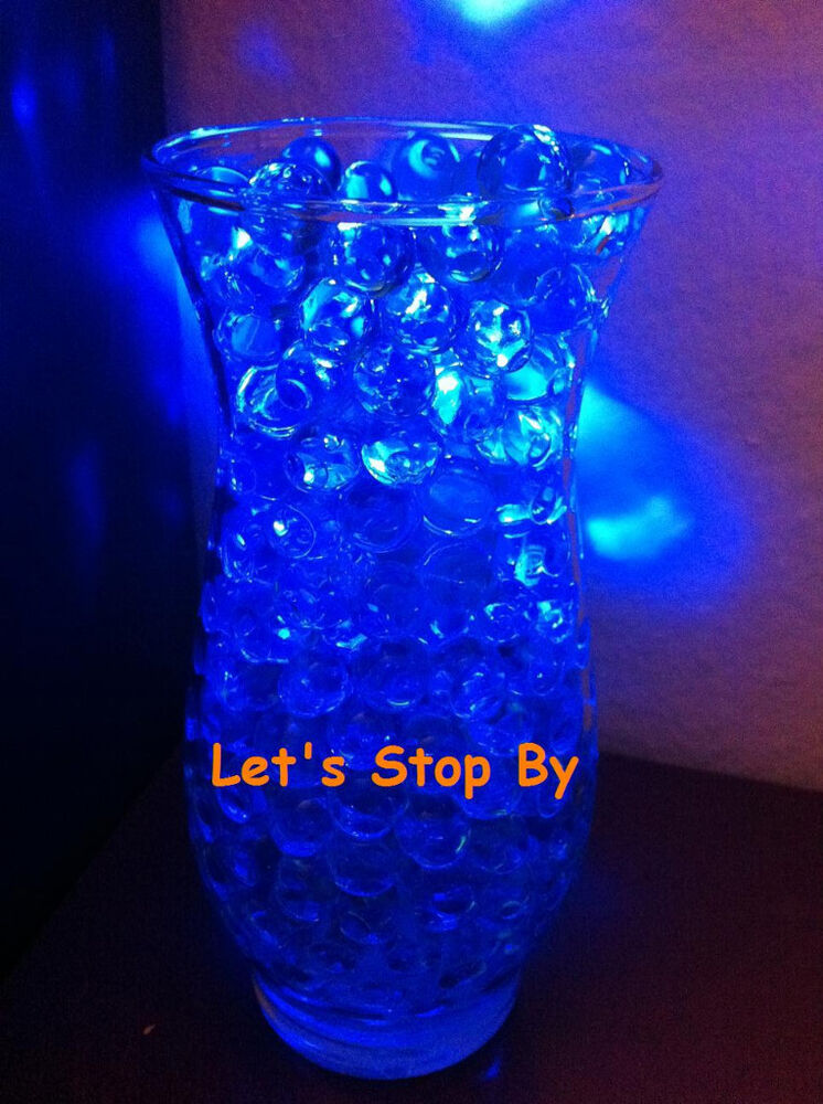 Oz blue water pearl led submersible wedding home