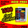 1500 CARD SLEEVES - ULTRA PRO -SOFT PENNY SLEEVES 81126