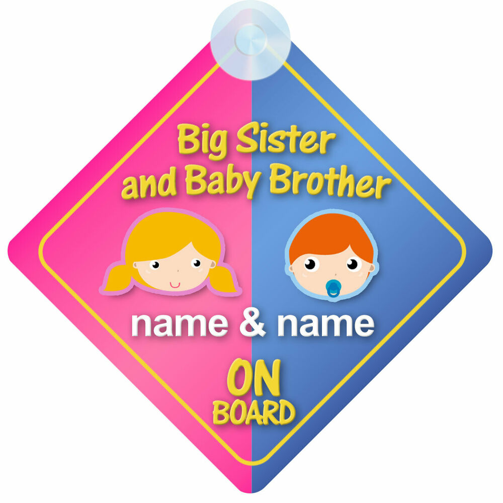 Brother sister sign-5277