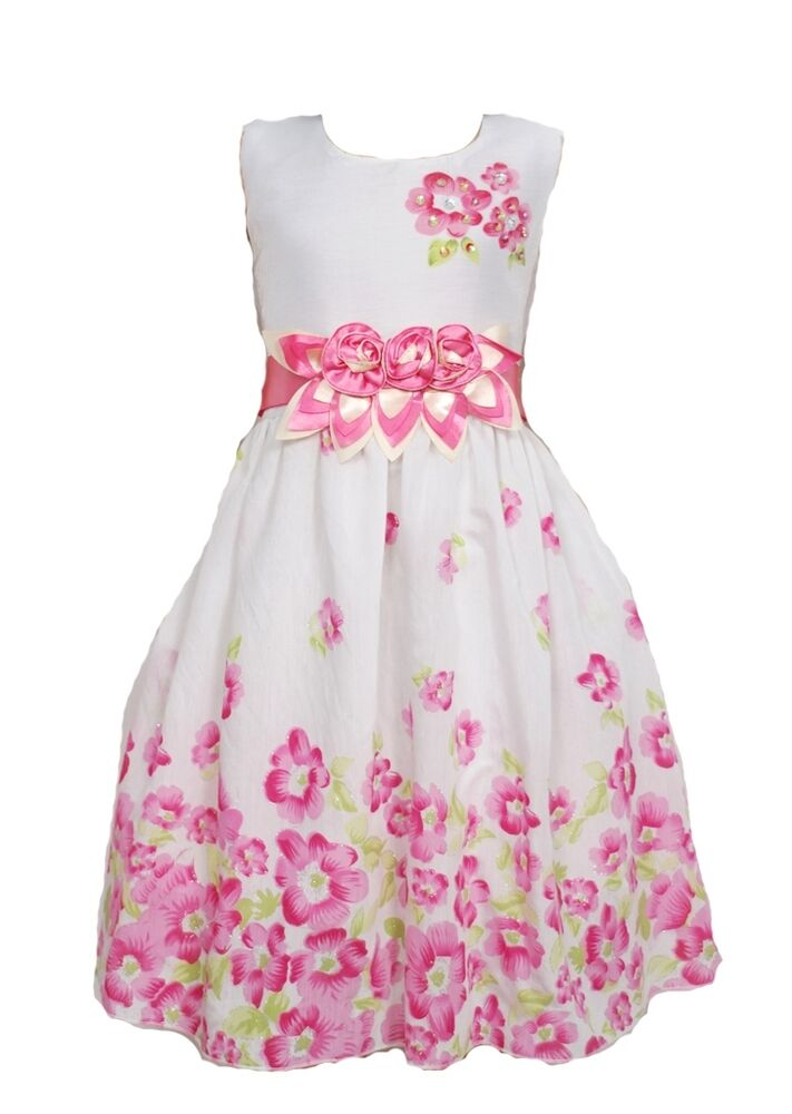 New Girls Summer Party Pageant Dress from 5 to 10 Years