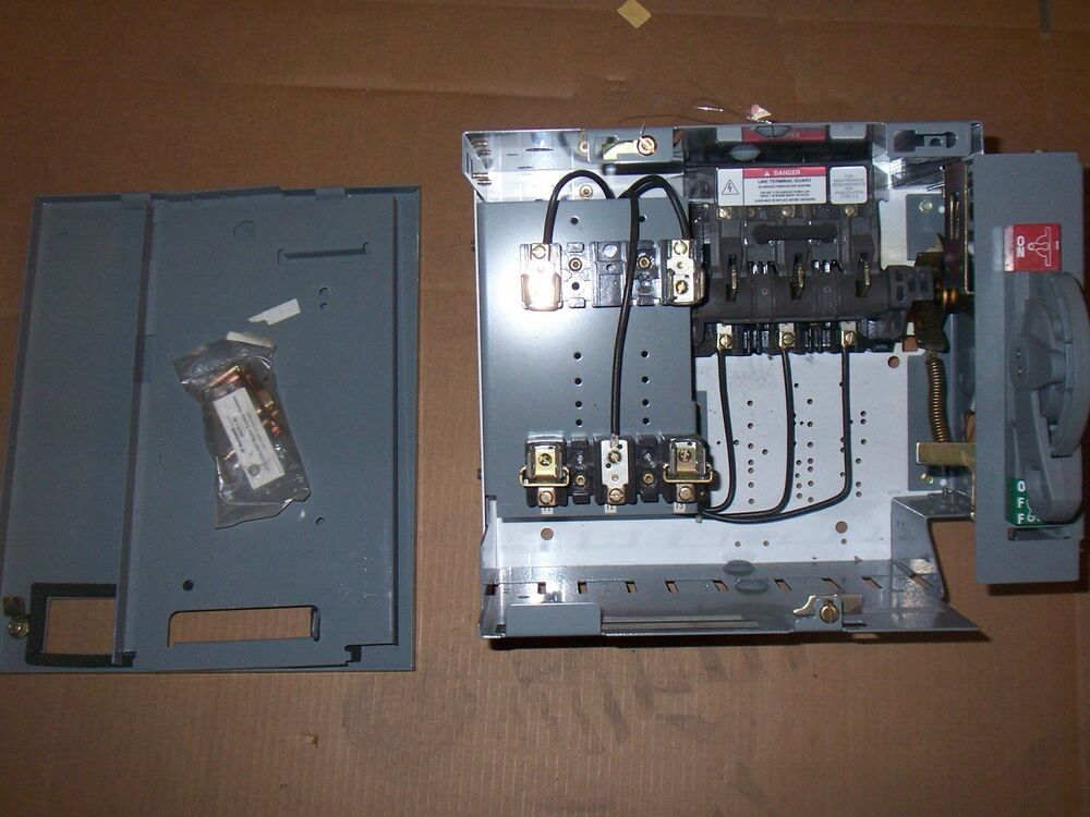 NEW ALLEN BRADLEY 2100 30 AMP FEEDER MCC FUSIBLE ...