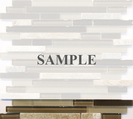 sample crystal glass matte glass mix natural stone glass