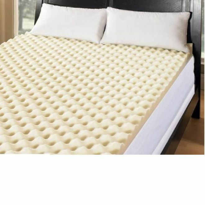 all sizes ultimate big comfort 3 inch memory foam mattress bed topper new ebay. Black Bedroom Furniture Sets. Home Design Ideas
