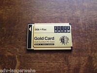 PCMCIA Psion Gold Card Multi-Funktion PC Card 56K+Fax