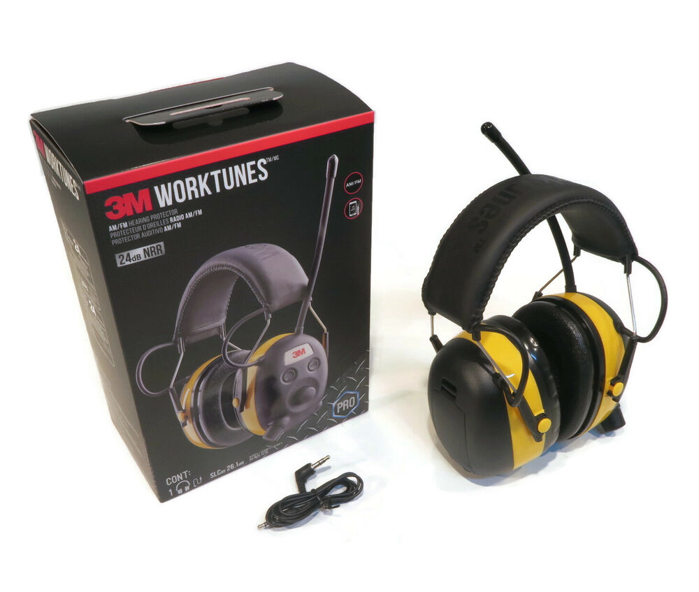 peltor worktunes digital am fm mp3 radio headphones hearing protection ear muffs ebay. Black Bedroom Furniture Sets. Home Design Ideas