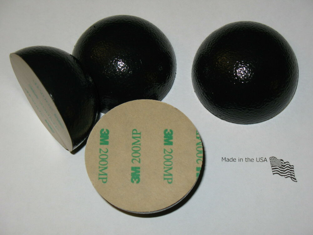 4 Sorbothane Sorbo 2in 50mm Vibration Isolation Feet Pods