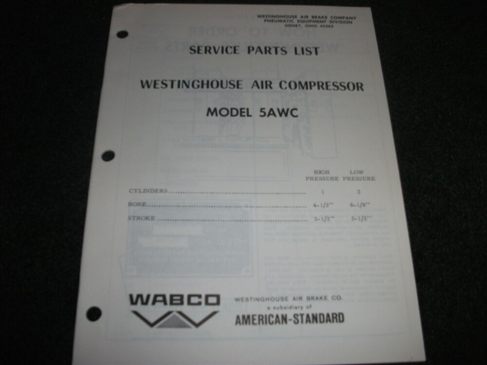 how to tell westinghouse compressor