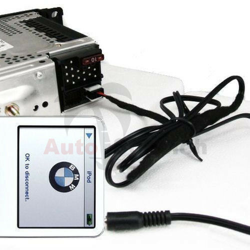 aux in adapter kabel f r bmw e46 business cd radio mp3. Black Bedroom Furniture Sets. Home Design Ideas
