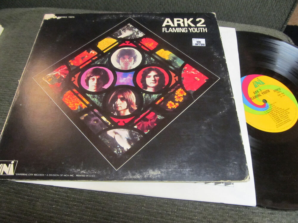 Ark 2 Flaming Youth Vinyl Lp 1969 Phil Collins Uni Gate