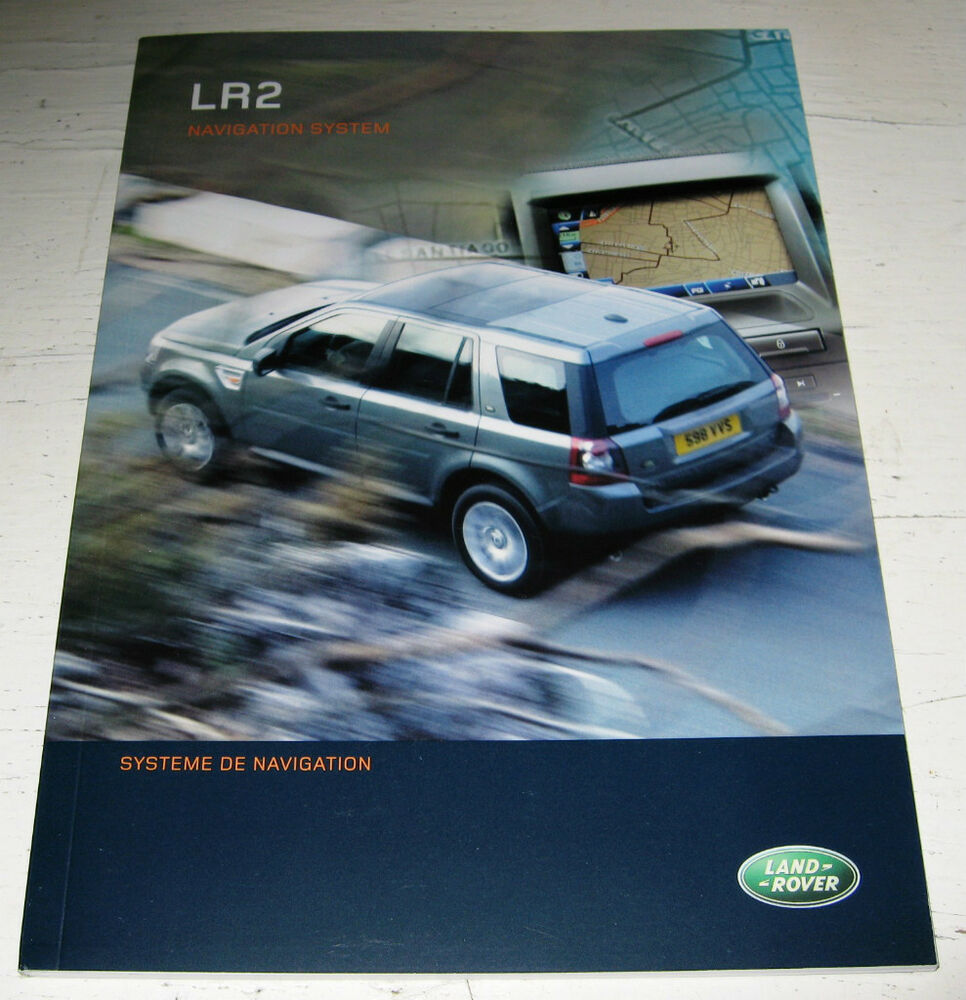 2008 LAND ROVER LR2 NAVIGATION SYSTEM OWNERS MANUAL 08