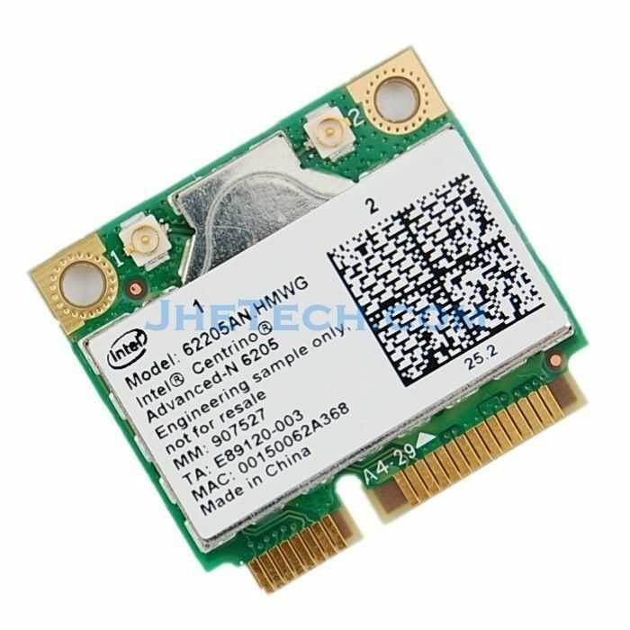 Intel Centrino Advanced-N 6205 - network adapter Specs & Prices