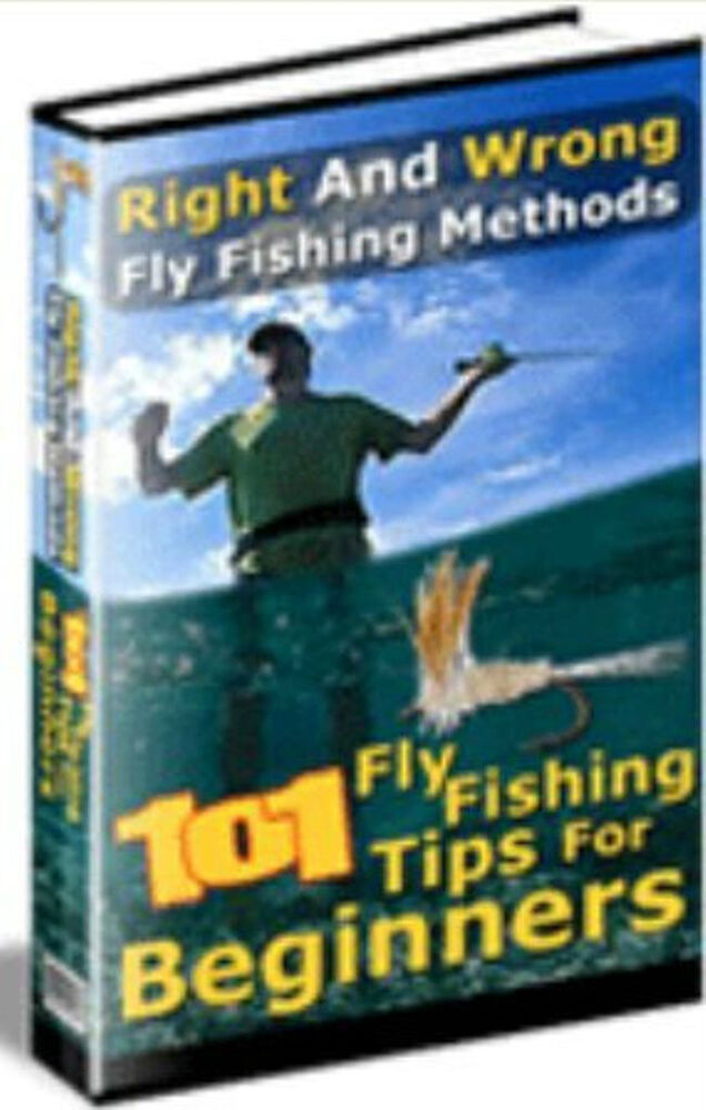 101 fly fishing tips for beginners 3 films on cd rom ebay