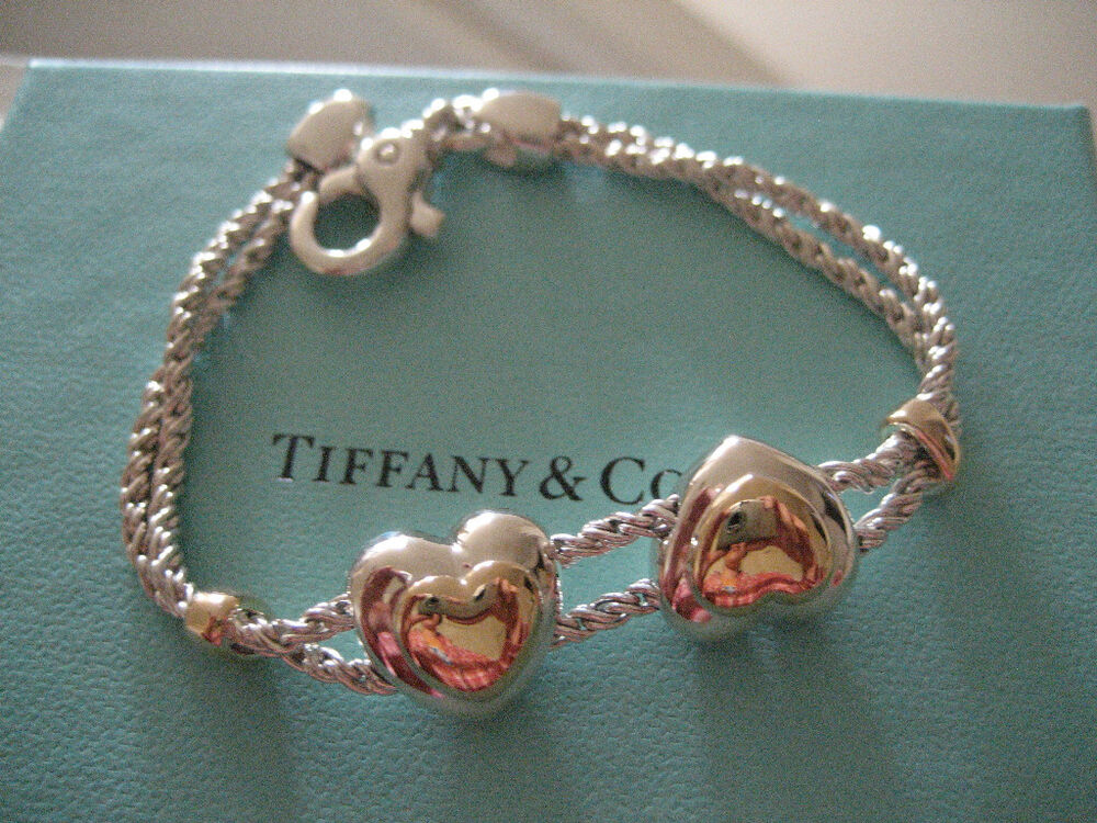 Authentic Tiffany Amp Co Sterling Silver 925 Amp 18k Yellow