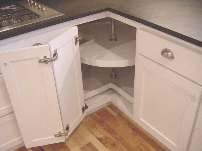 charming Kitchen Cabinet Lazy Susan Turntable #2: LAZY SUSAN HARDWARE PACKAGE (FACE-FRAME CABINET)