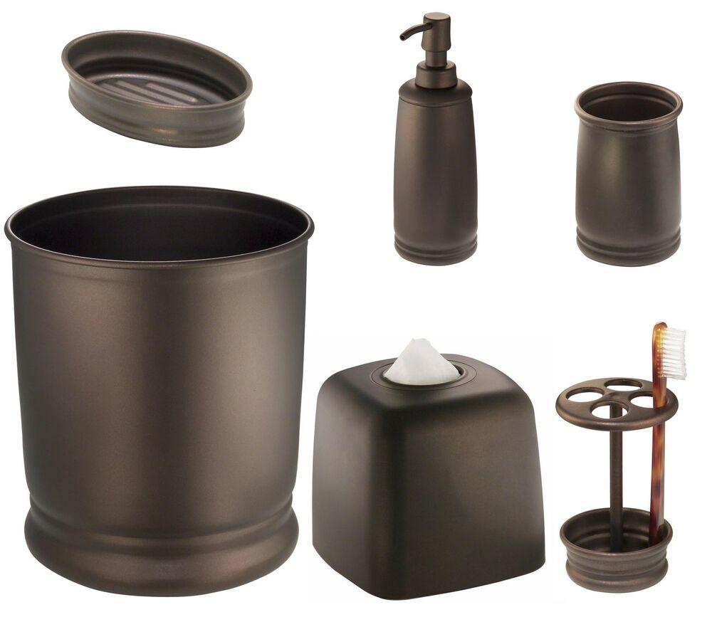 Oil rubbed bronze decorative bathroom accessory accents - Rubbed oil bronze bathroom accessories ...