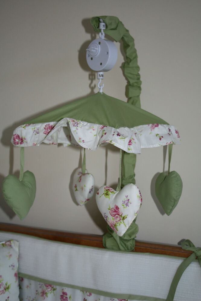 NEW Musical Cot Mobile Toy To Match Baby Bedding Set Nursery EBay