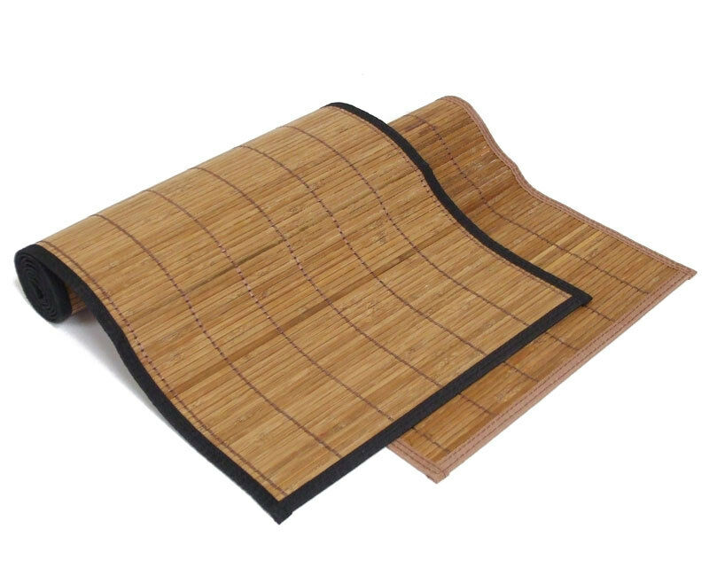 4 X6 48 Quot X72 Quot Brown Bamboo Floor Mat Area Rug Tatami Latex