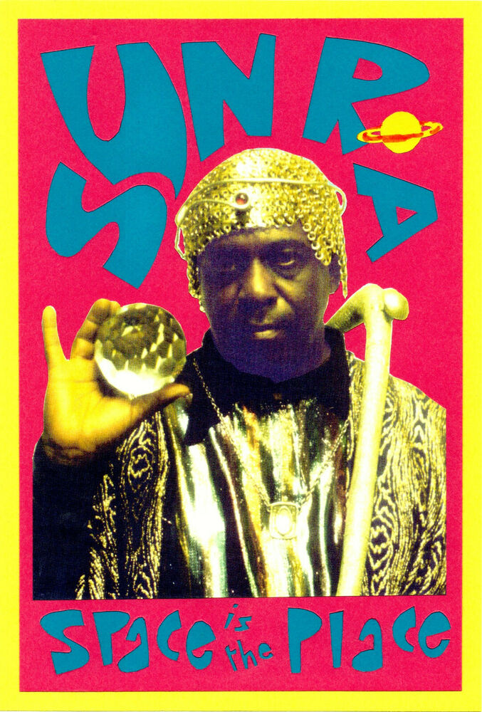 sun ra poster jazz ebay. Black Bedroom Furniture Sets. Home Design Ideas