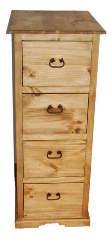 Rustic drawer file cabinet western office furniture