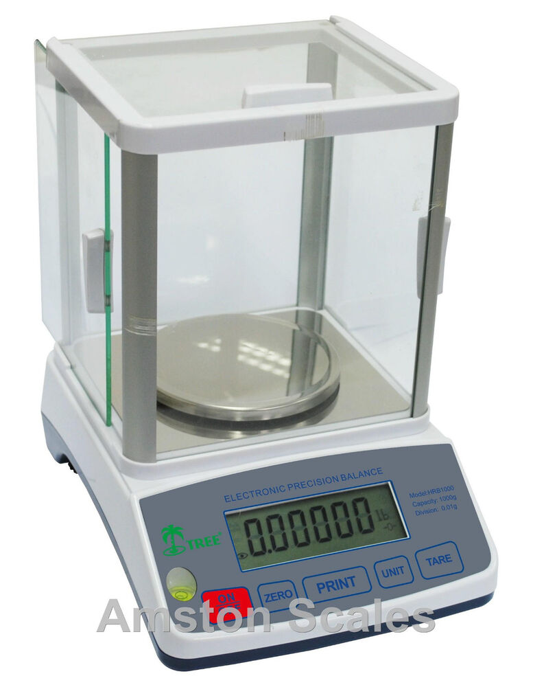 600 x gram 10 mg digital scale balance lab analytical precision laboratory ebay. Black Bedroom Furniture Sets. Home Design Ideas