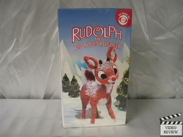 Rudolph The Red Nosed Reindeer Burl Ives >> Rudolph The Red-Nosed Reindeer VHS New CBS Video | eBay