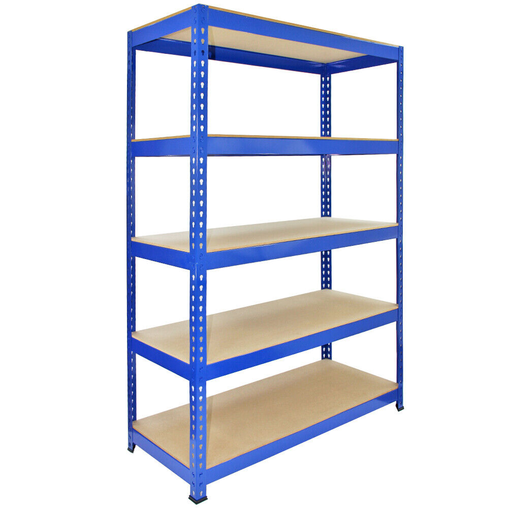 1 racking bay 120cm garage shelves storage warehouse for Storage bay