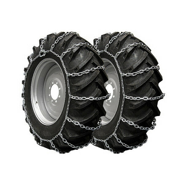 12 4x24 Tractor Tires : Tractor snow chain mm  pair tractors tire