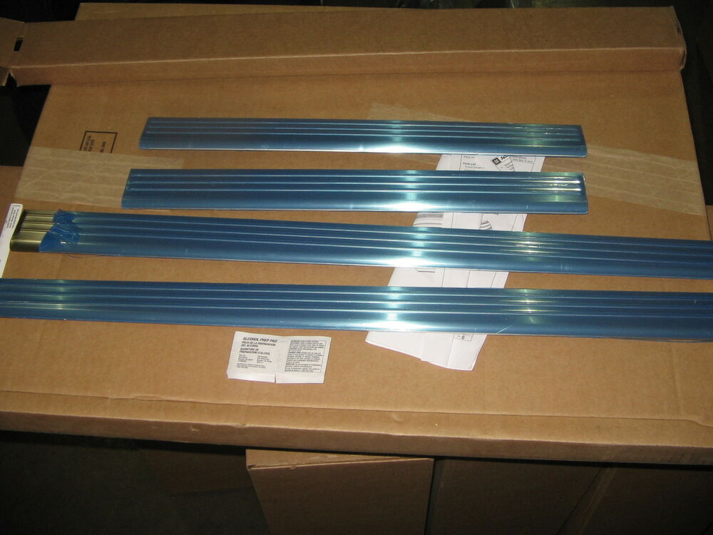 Genuine Gm Brushed Stainless Steel Sill Plates 4 Door