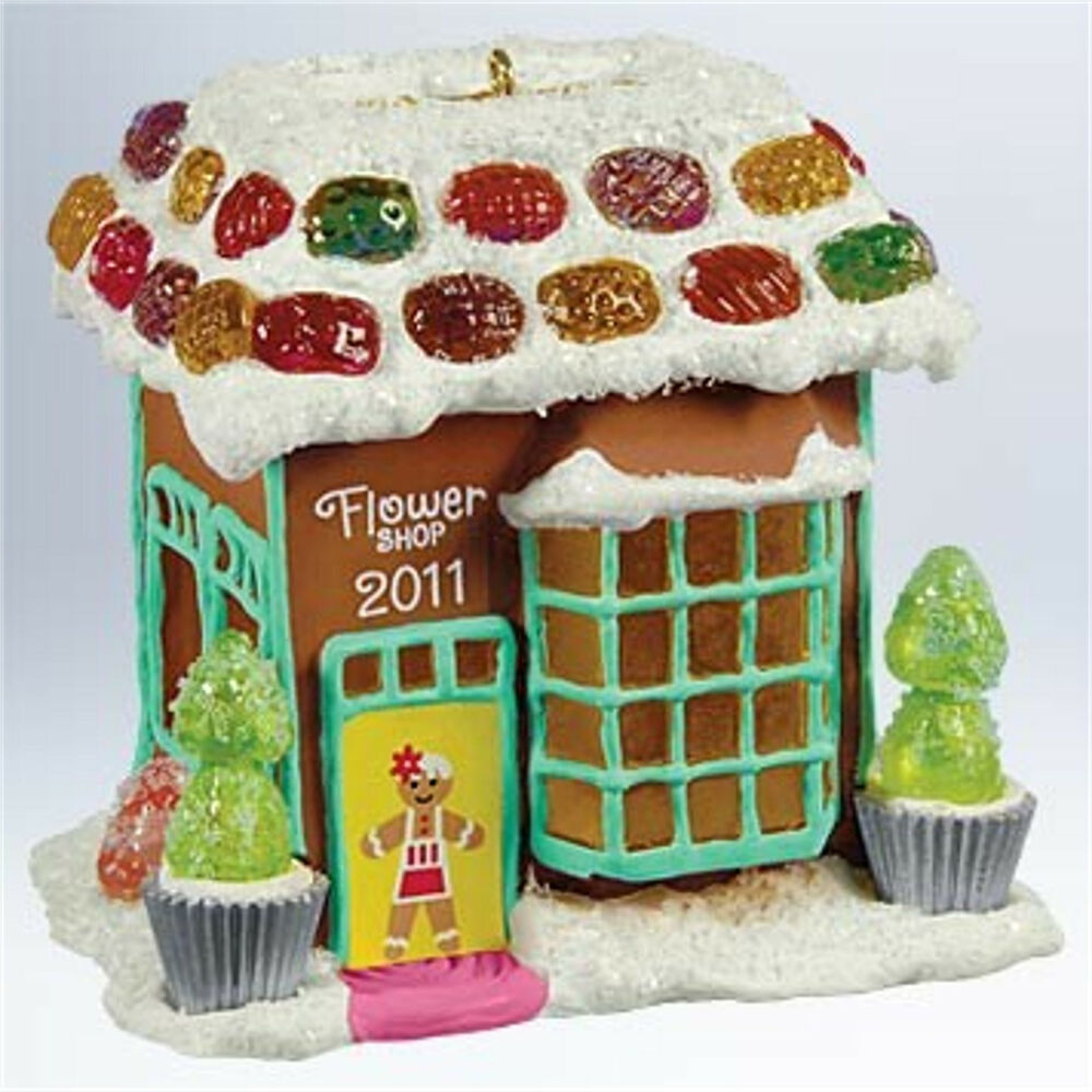 Hallmark 2011 flower shop noelville series ornament ebay Hallmark flowers