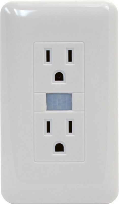 Electrical Outlet Motion Activated Covert Hidden Spy Nanny ...