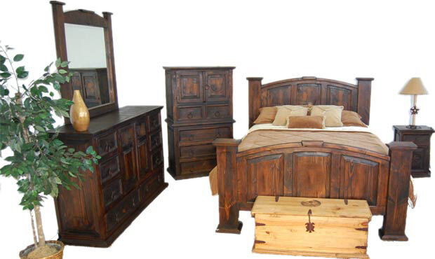 dark rustic bedroom set western king queen free