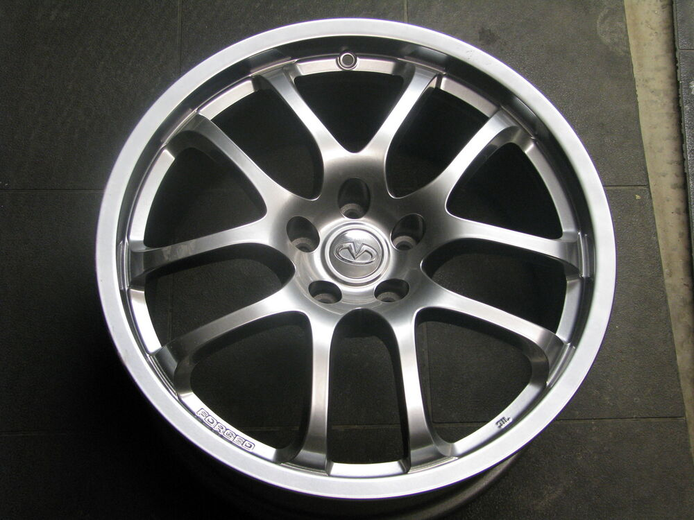 "Nissan Make A Payment >> 19"" OEM INFINITI G35 350Z NISSAN NISMO REAR RAYS ENG FORGED 73684 WHEEL RIM 