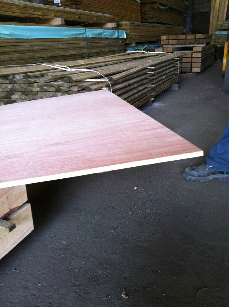 Plywood sheets hardwood mm wbp ext only £