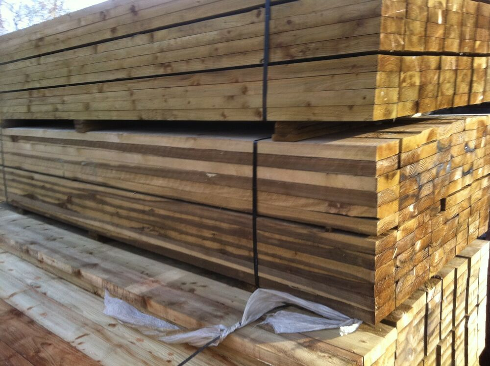 6x2 Timber Pressure Treated 16ft 4 8mx150x50 Tantalised