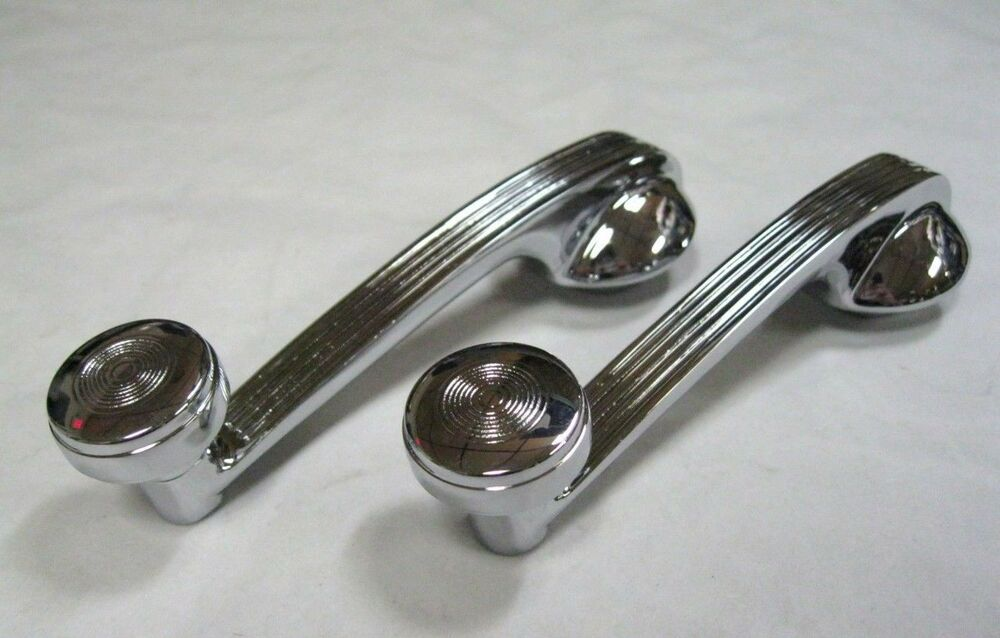 1940 ford deluxe car interior window cranks 39 40 pair ebay. Black Bedroom Furniture Sets. Home Design Ideas