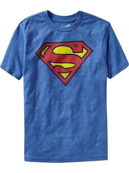 Nwt old navy dc comics superhero superman tees t shirt Boys superhero t shirts
