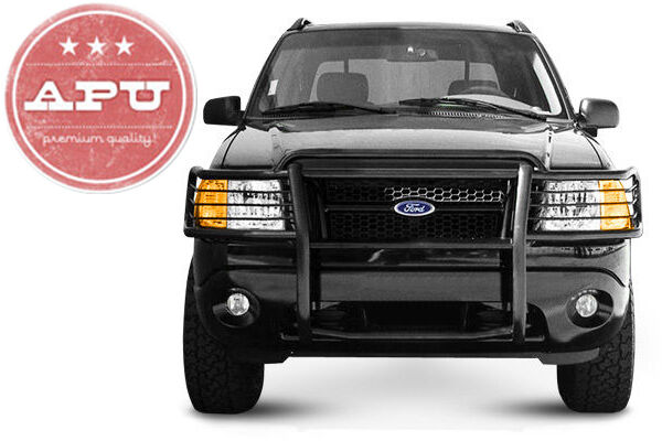ford explorer 2002 2005 grille guard push bar in black. Black Bedroom Furniture Sets. Home Design Ideas