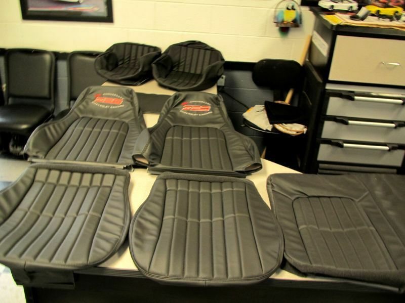 2002 35th anniversary z28 camaro ebony seat covers w matching doorpanel inserts ebay. Black Bedroom Furniture Sets. Home Design Ideas