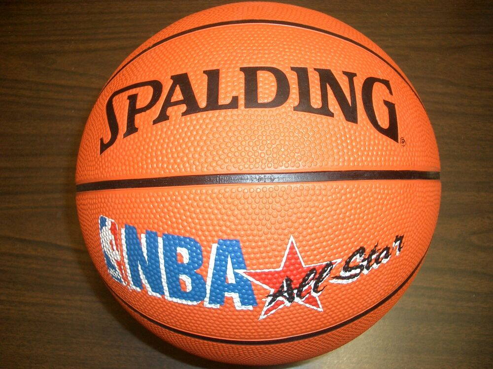 Spalding nba all star basketball new ebay - Spalding basketball images ...