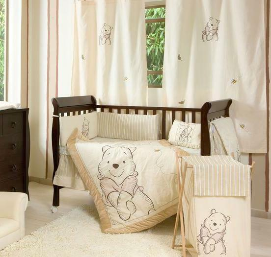 Classic Pooh Bear Baby Bedding